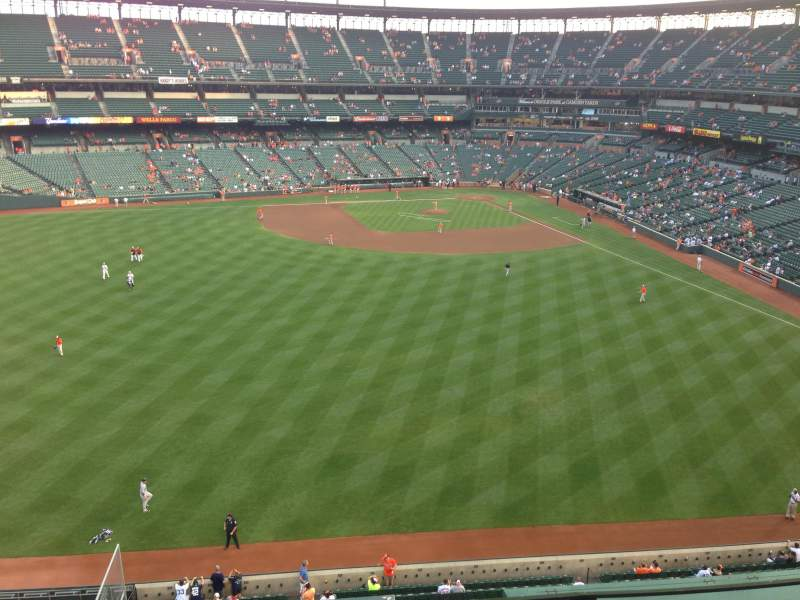 Seating view for Oriole Park at Camden Yards Section 388 Row 3 Seat 12