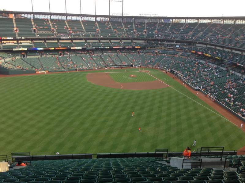 Seating view for Oriole Park at Camden Yards Section 388 Row 14 Seat 10