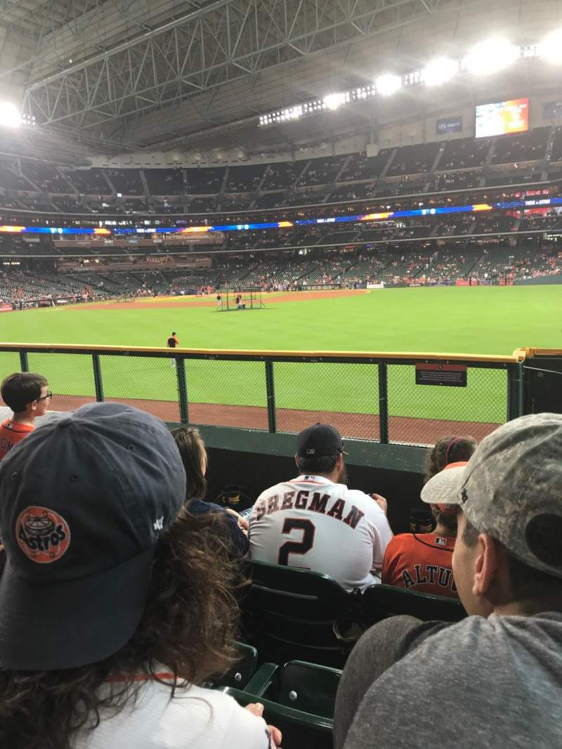 Minute Maid Park, section: 156, row: 4, seat: 24