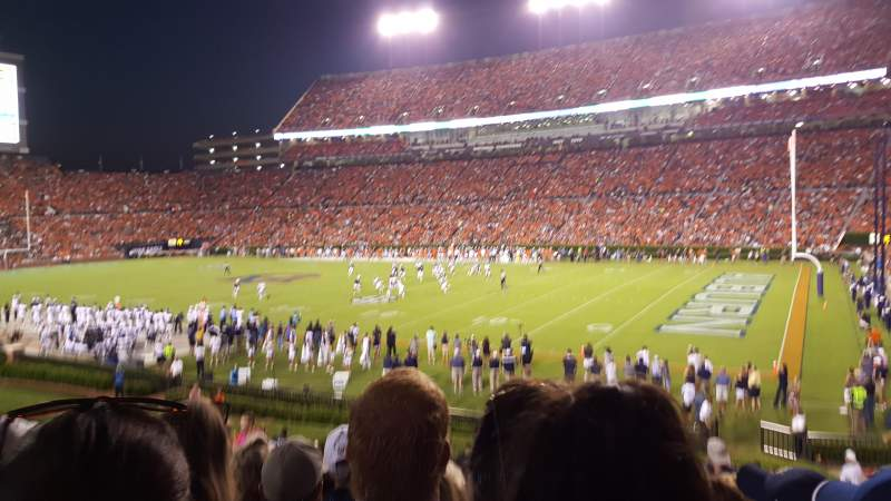 Seating view for Jordan-Hare Stadium Section 34 Row 26 Seat 14