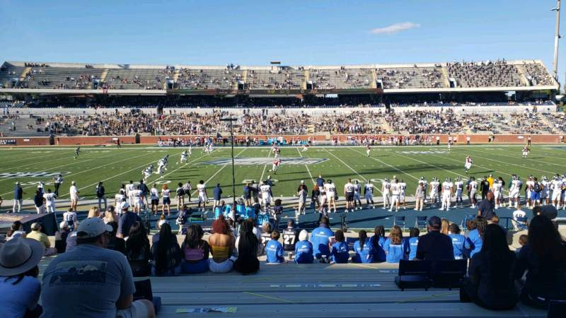 Seating view for Paulson Stadium Section D Row 23 Seat 14