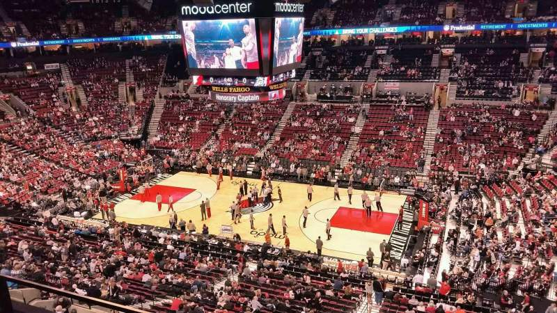 Seating view for Moda Center Section 333 Row B Seat 9