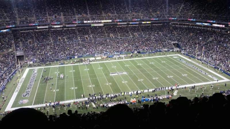 Seating view for CenturyLink Field Section 337 Row II Seat 14