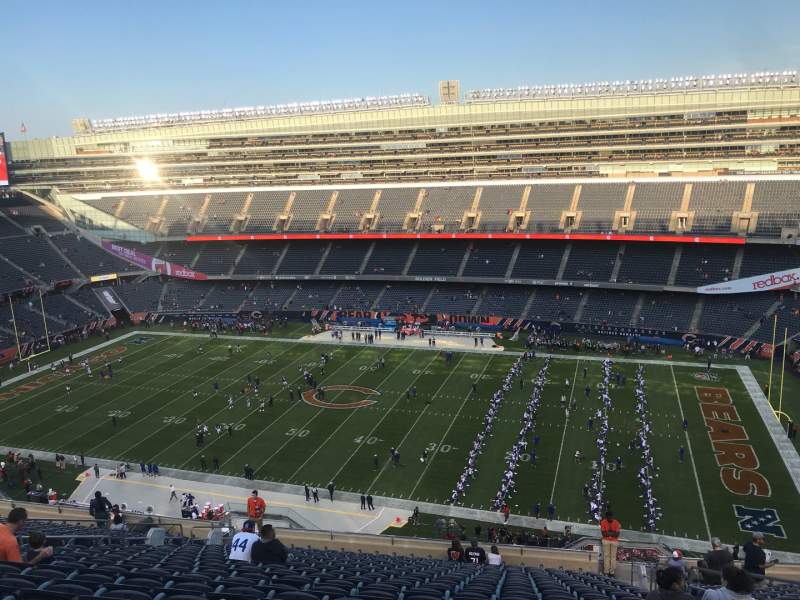 Seating view for Soldier Field Section 434 Row 20 Seat 19