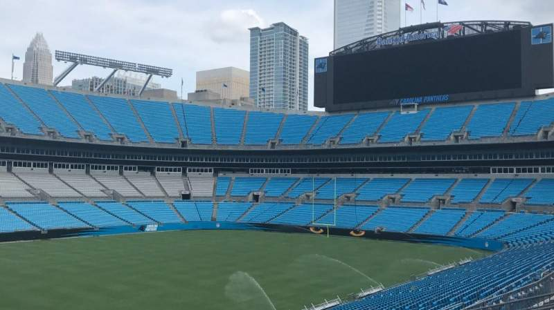 Bank of America Stadium, section: 349, row: 8, seat: 2
