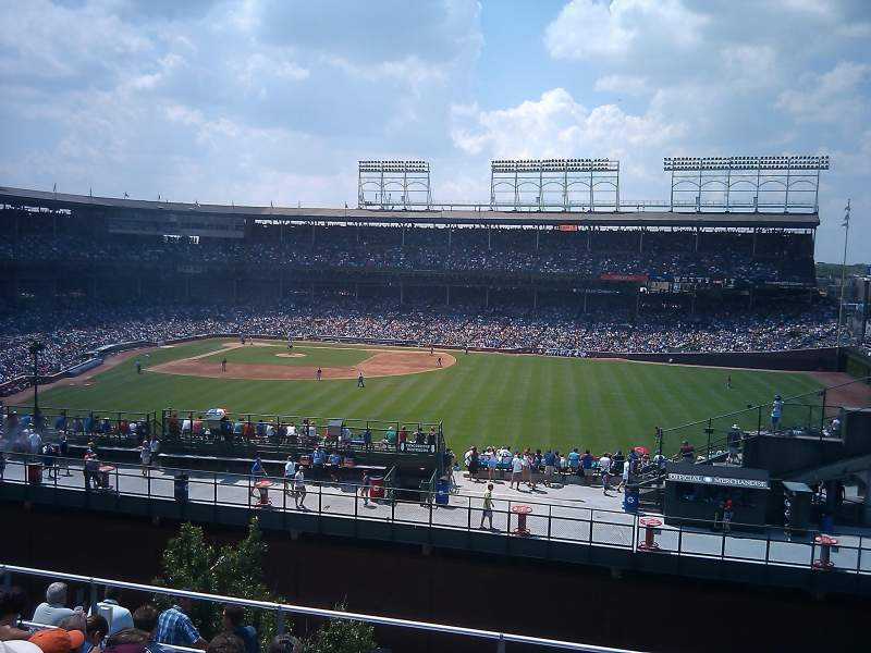 Seating view for Wrigley Field Section 3643 Sheffield - Rooftops Row Row Bleachers Seat Bleachers