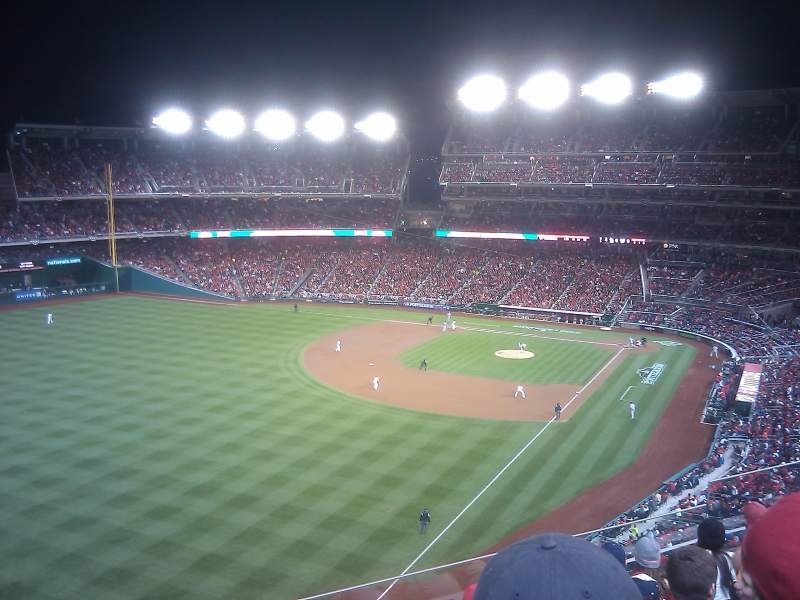 Seating view for Nationals Park Section 301 Row F Seat 11