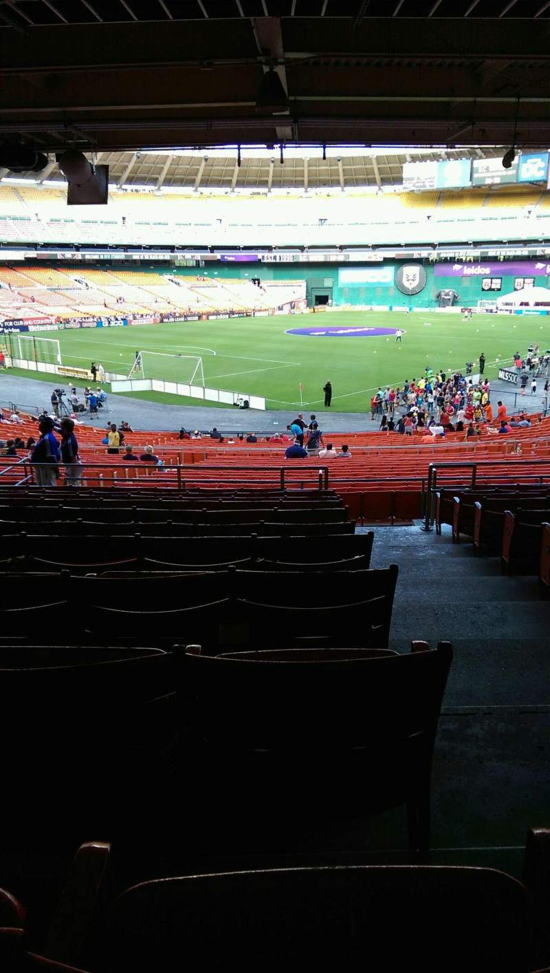 Seating view for RFK Stadium Section 315 Row 11 Seat 1