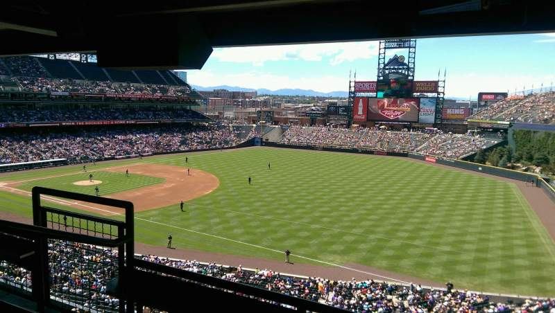Seating view for Coors Field Section Suite 2