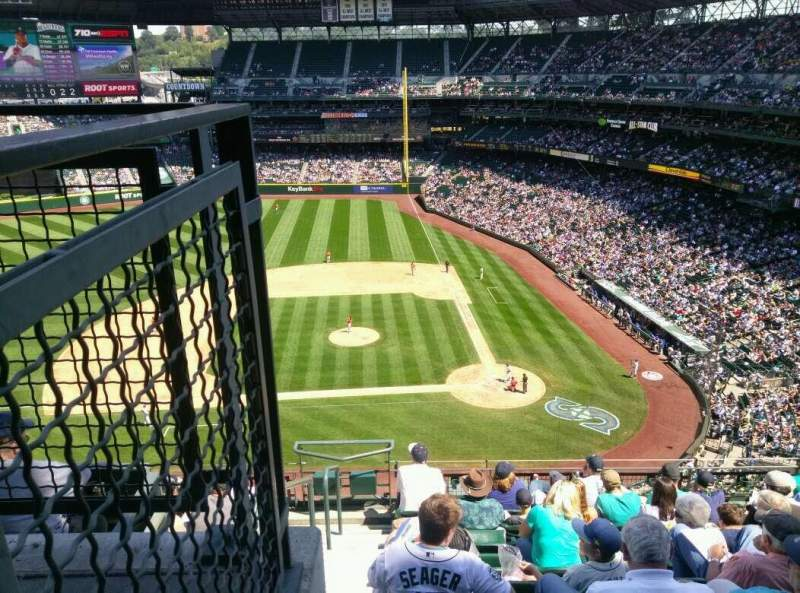 Seating view for Safeco Field Section 335 Row 9 Seat 16