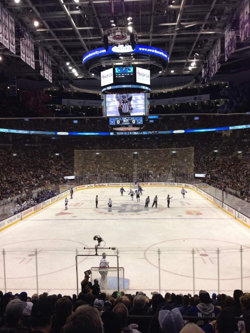 Seating view for Air Canada Centre Section 113 Row 21 Seat 15