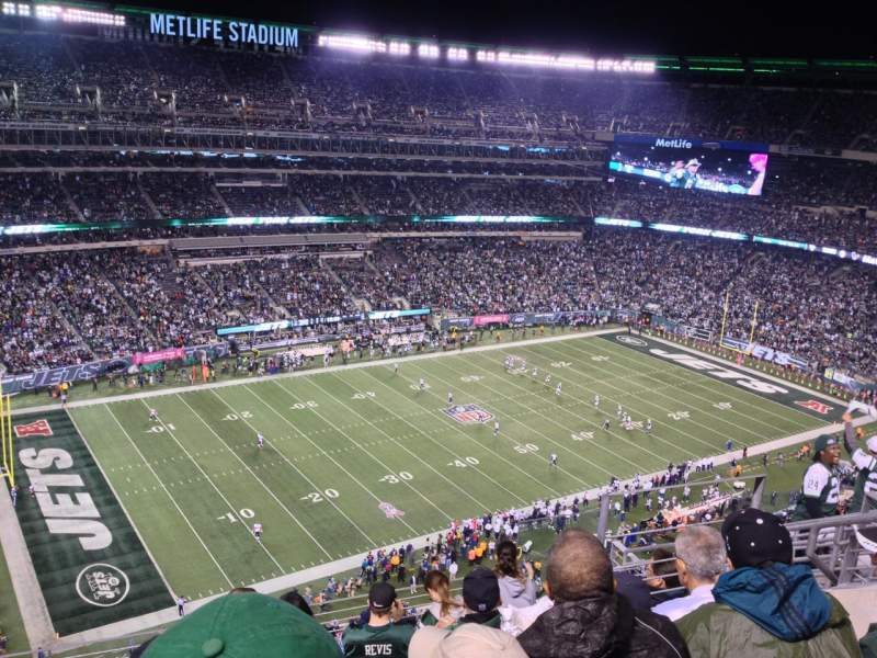 Seating view for MetLife Stadium Section 343 Row 12 Seat 10