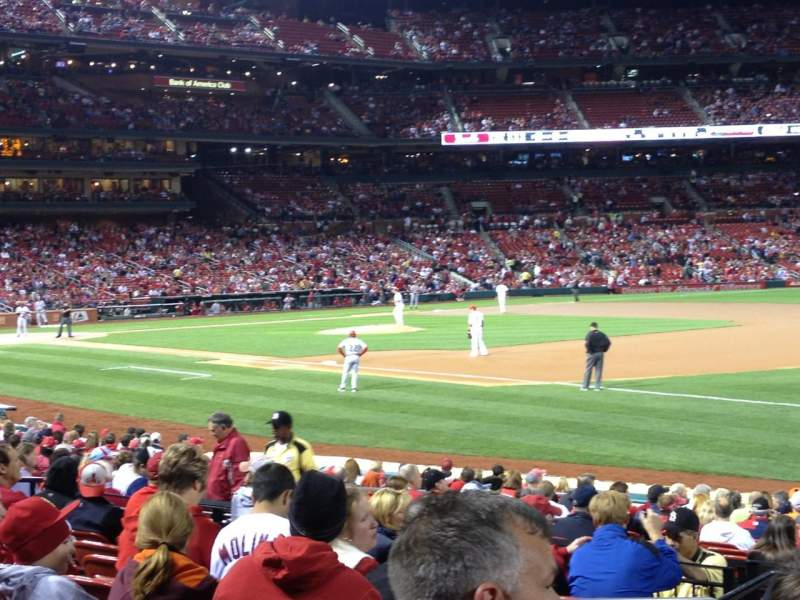 Seating view for Busch Stadium Section 137 Row 9 Seat 3
