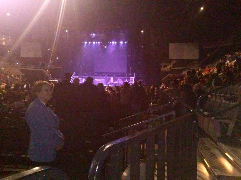 Seating view for Mandalay Bay Events Center Section 117 Row A Seat 6