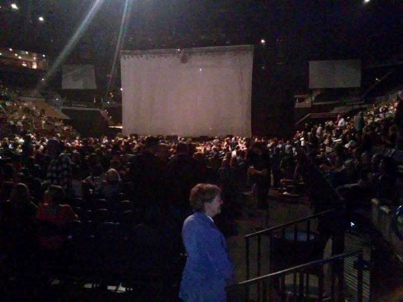 Mandalay Bay Events Center, section: 117, row: A, seat: 5