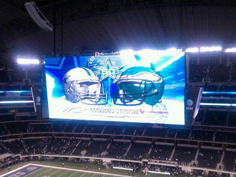 Seating view for AT&T Stadium Section 410 Row 5 Seat 5