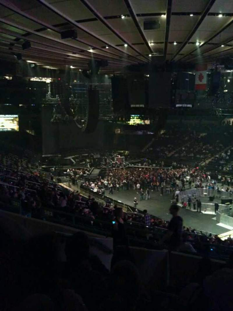 Seating view for Madison Square Garden Section 303 Row G Seat 4