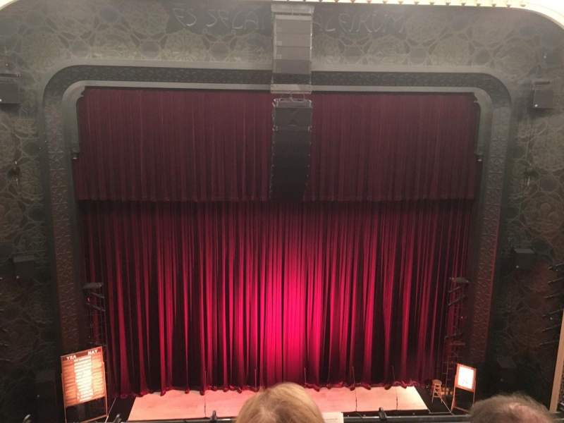 Seating view for New York City Center Section Balcony Row B Seat 129