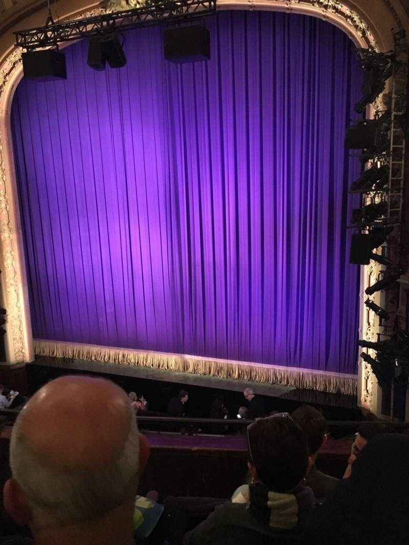 Seating view for Lyceum Theatre (Broadway) Section Mezzanine Row D Seat 8