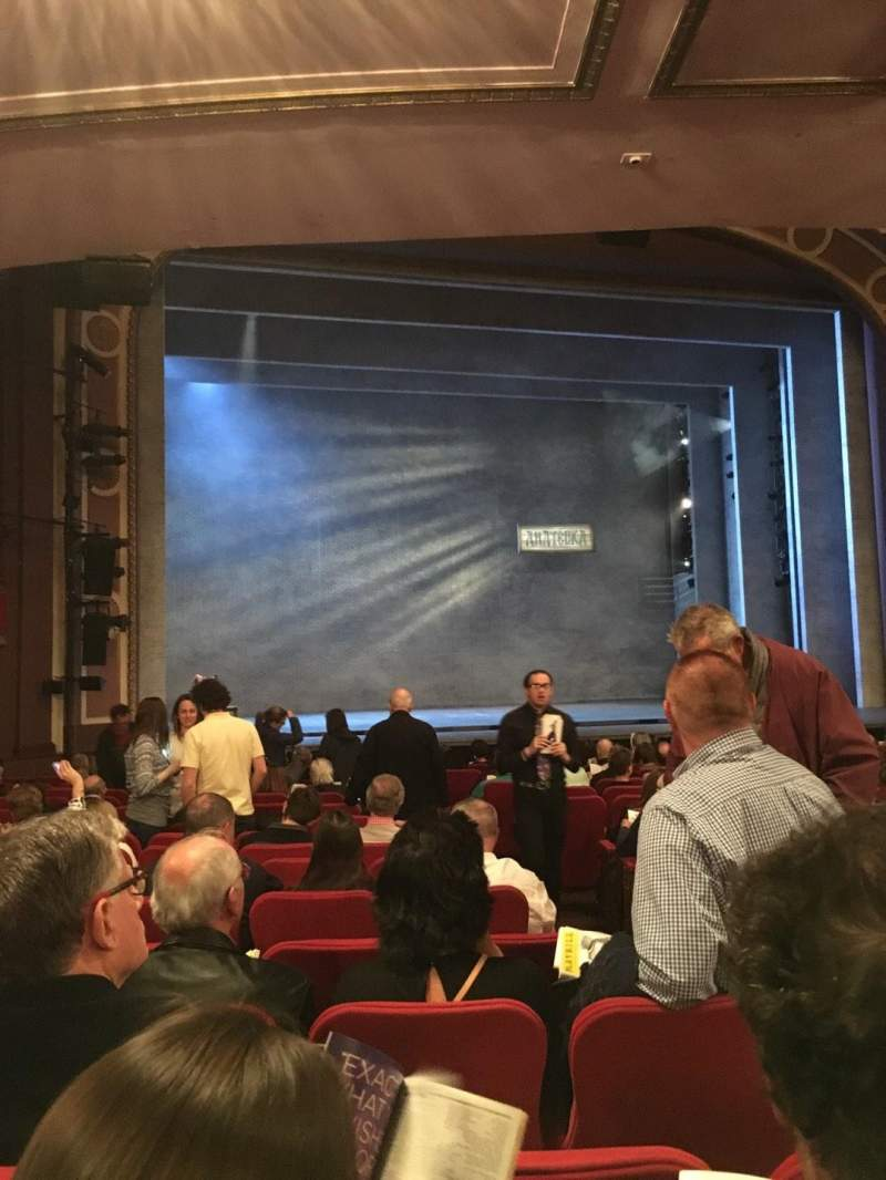 Seating view for Broadway Theatre - 53rd Street Section Orchestra Row R Seat 6