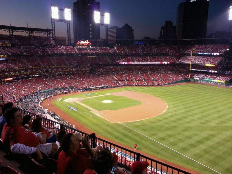 Seating view for Busch Stadium Section 335 Row 4 Seat 17