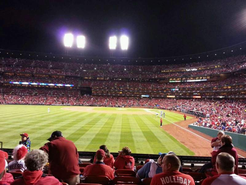 Seating view for Busch Stadium Section 171 Row 8 Seat 10