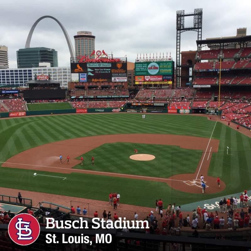 Busch Stadium Section 253 Home Of St Louis Cardinals
