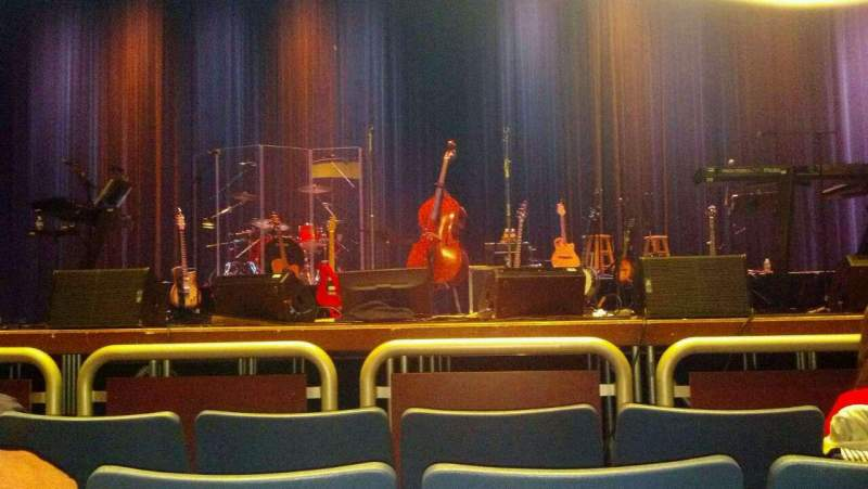 Seating view for Investors Bank Performing Arts Center Section center Row D Seat 7