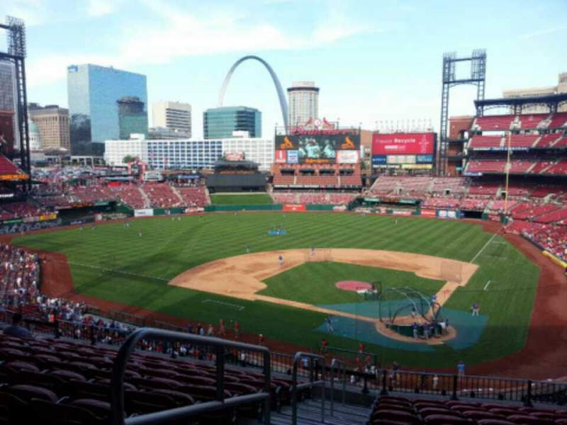Seating view for Busch Stadium Section 252 Row 11 Seat 18