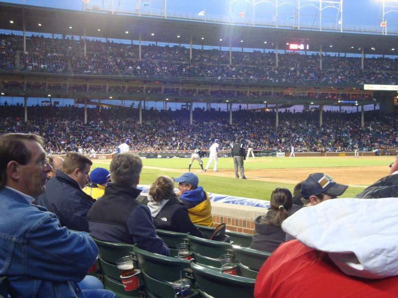 Seating view for Wrigley Field Section 35 Row 5 Seat 103