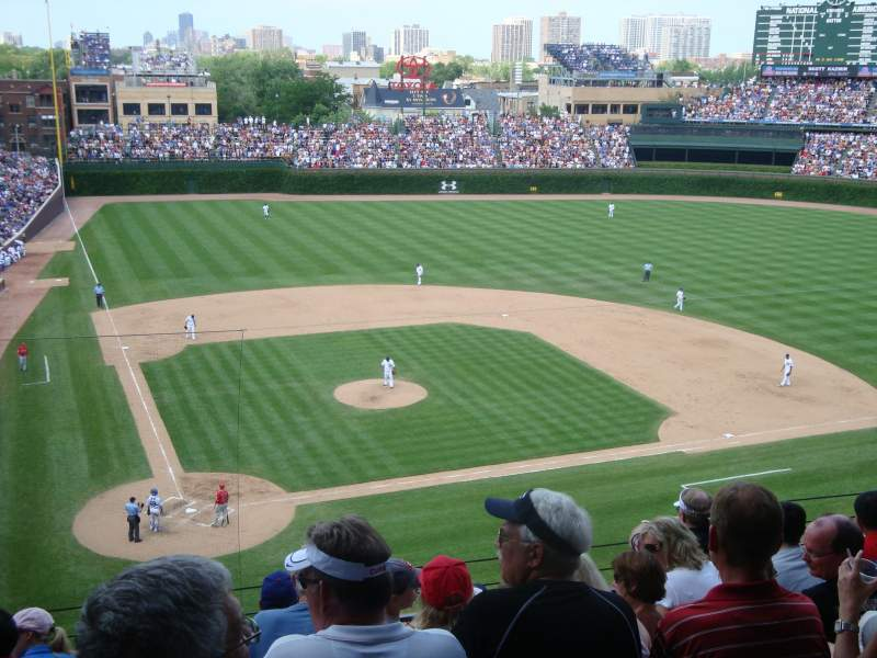 Seating view for Wrigley Field Section 424 Row 7 Seat 7