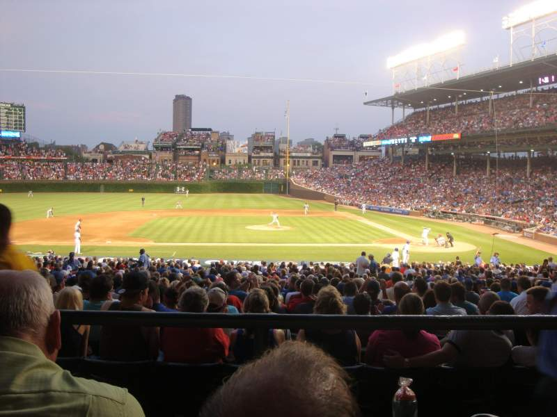 Seating view for Wrigley Field Section 215 Row 2 Seat 104