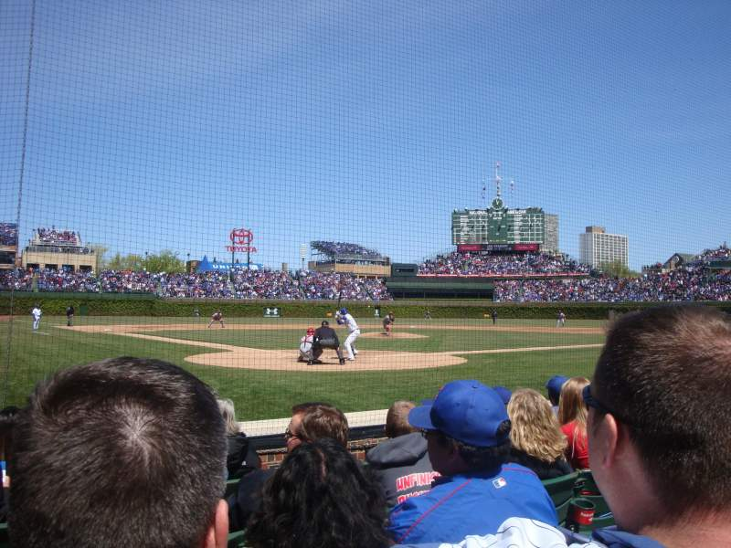 Seating view for Wrigley Field Section 24 Row 3 Seat 104