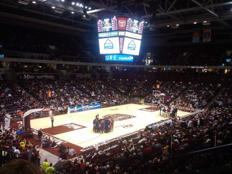 Seating view for JQH Arena Section Suite 12 Row S Seat 5