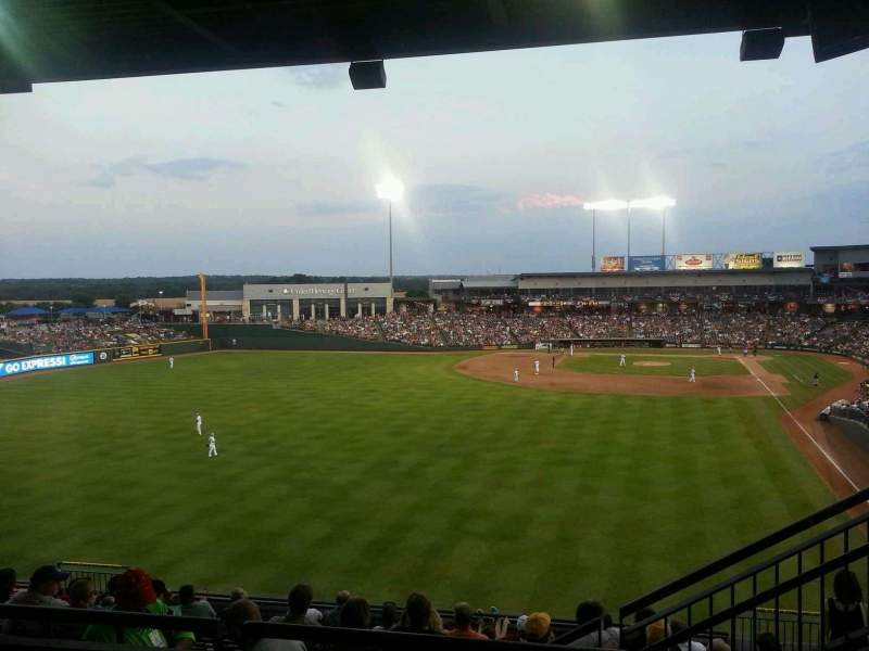Seating view for Dell Diamond Section 208 Row 8 Seat 16