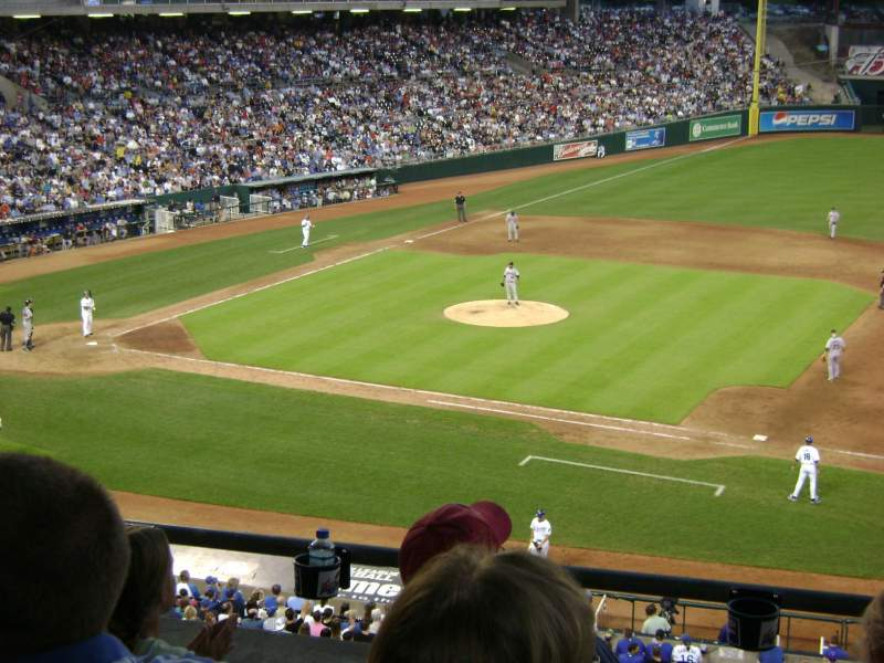 Seating view for Kauffman Stadium Section 234 Row D Seat 7