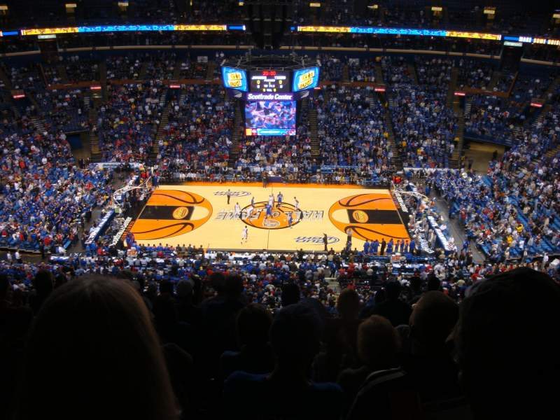 Seating view for Scottrade Center