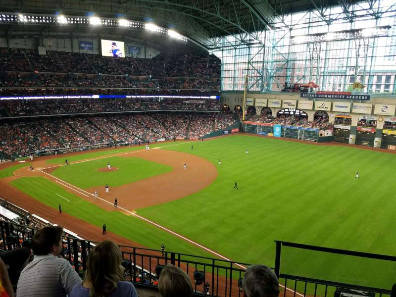Seating view for Minute Maid Park Section 331 Row 4 Seat 12