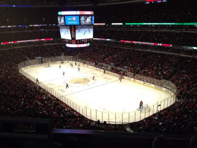 Seating view for United Center Section 314 Row 14 Seat 9