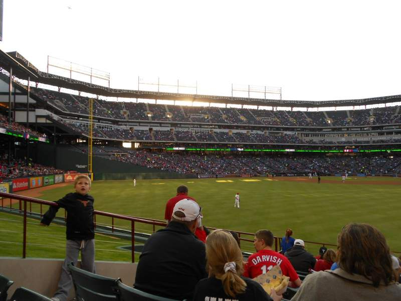 Seating view for Globe Life Park in Arlington Section 52 Row 10 Seat 6