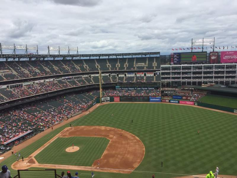 Seating view for Globe Life Park in Arlington Section 335 Row 21 Seat ??