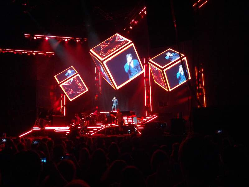 Budweiser Stage, section: 101, row: N, seat: 15