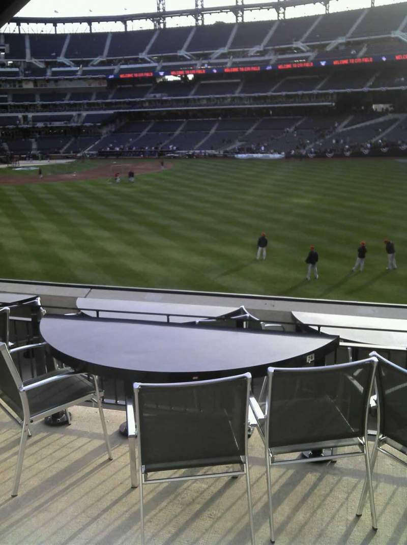 Seating view for Citi Field Section 134 Row E Seat 2
