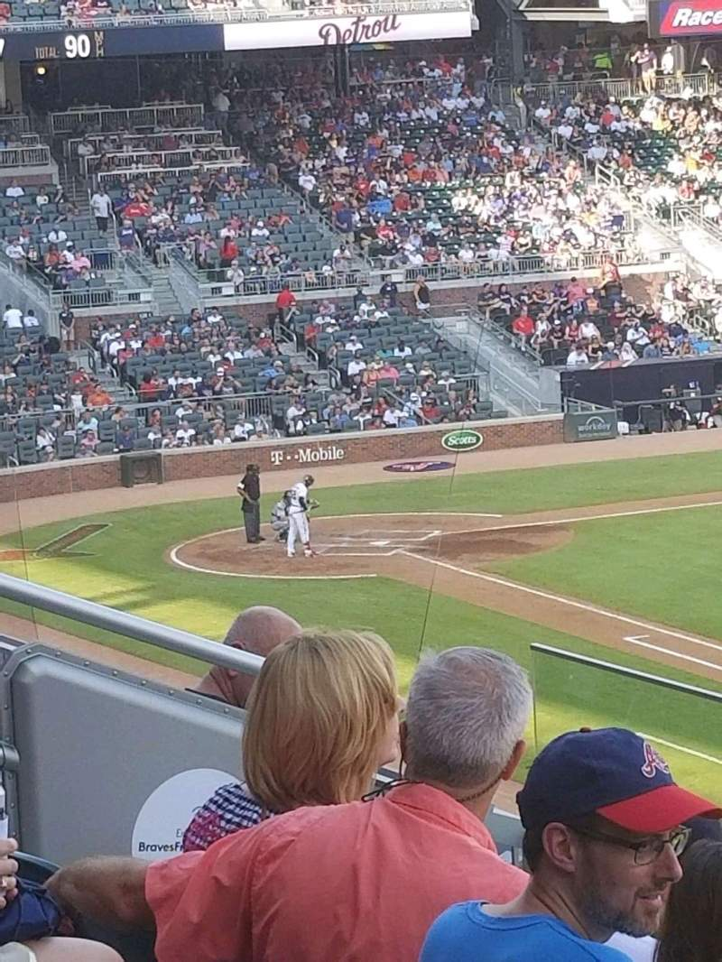 Seating view for Truist Park Section 214 Row 5 Seat 8