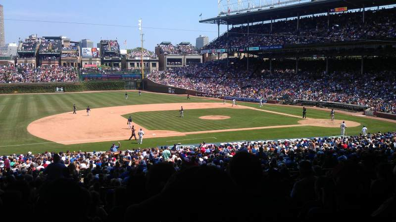 Seating view for Wrigley Field Section 211 Row 11 Seat 3