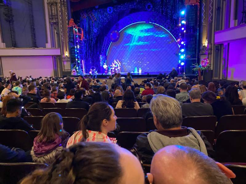 Seating view for Golden Gate Theatre Section Orchestra R Row S Seat 22