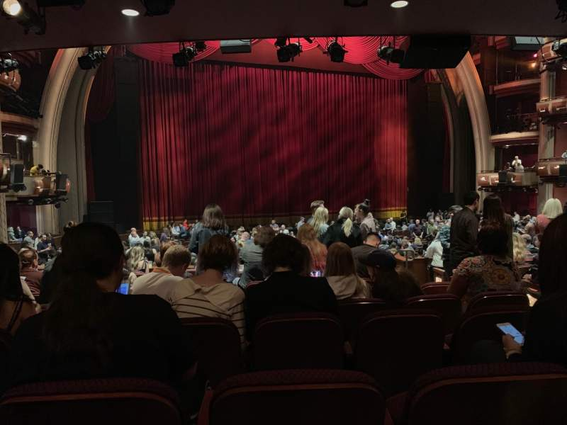Seating view for Dolby Theatre Section Parterre L Row K Seat 3