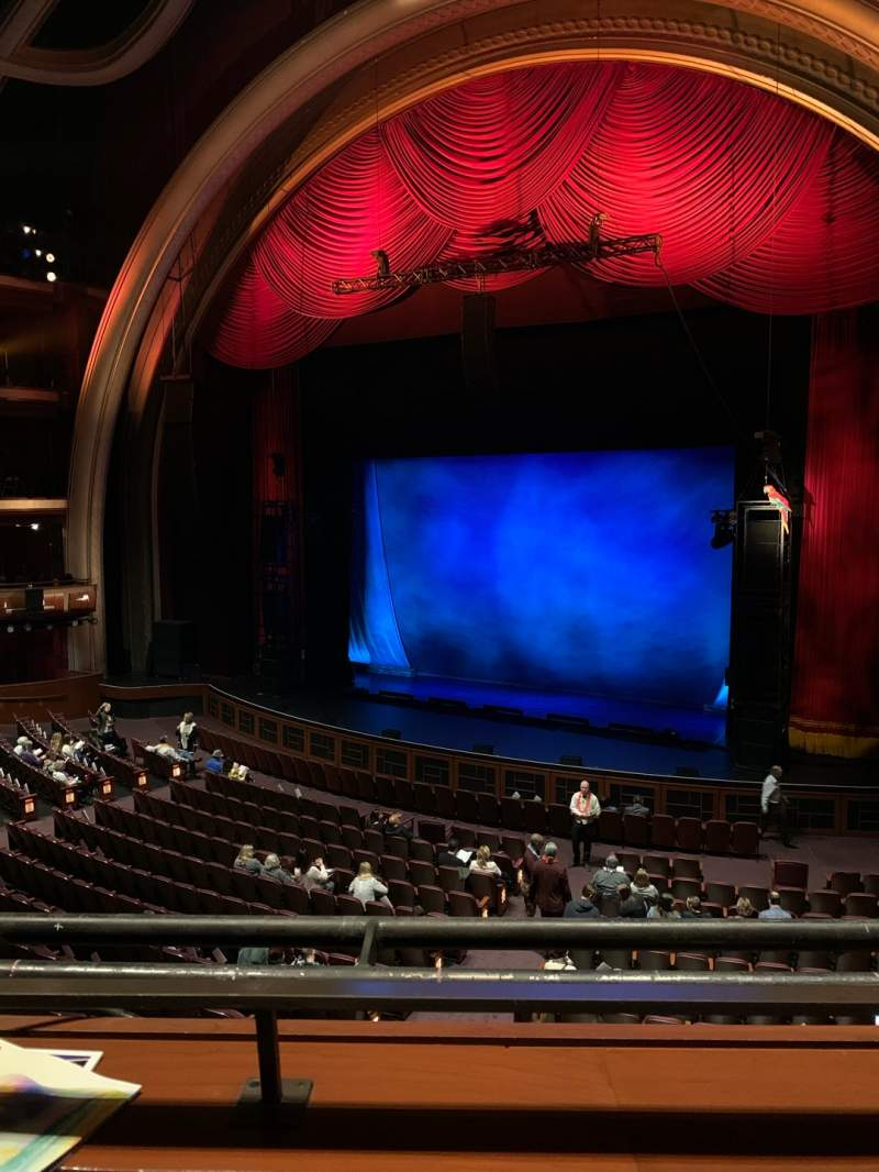Seating view for Dolby Theatre Section Mezzanine 1R Row A Seat 10