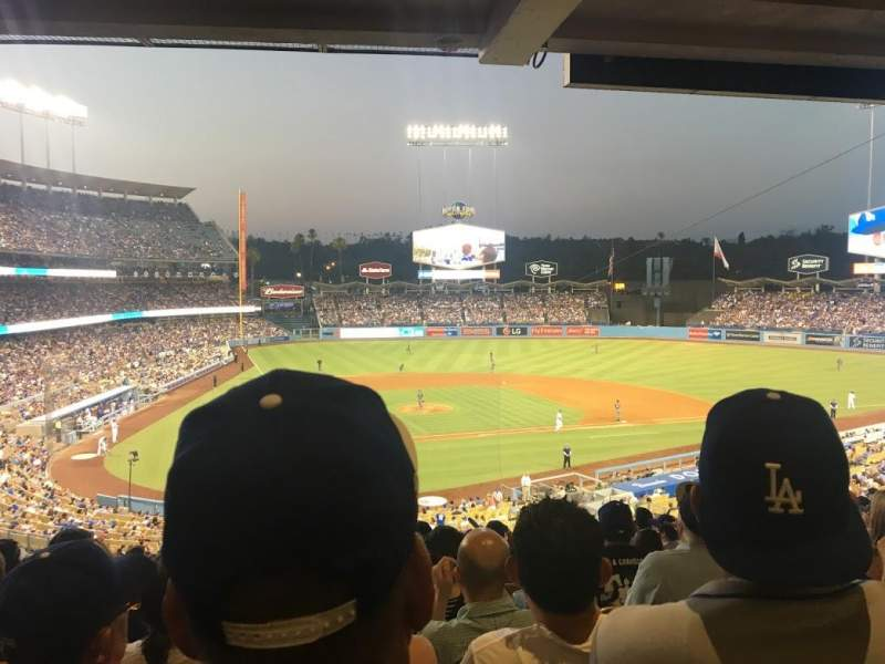 Seating view for Dodger Stadium Section 116LG Row S Seat 6