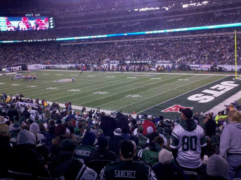 Seating view for MetLife Stadium Section 131 Row 35 Seat 12